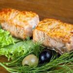 Рецепт Шашлык из семги