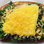 Рецепт Бутерброды с капустой, омлетом и сыром