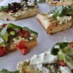 Рецепт Пицца с соусом песто и рукколой