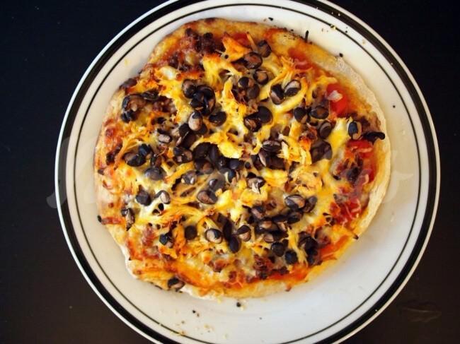 На фото Пицца в стиле начос