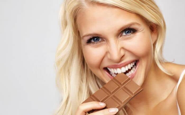 На фото Почему не стоит отказываться от шоколада