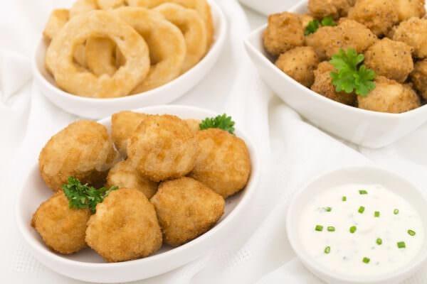 На фото Крокеты картофельные