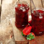 Рецепт Клубничное варенье с водкой