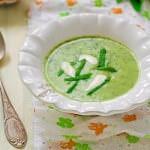 Рецепт Картофельный суп с черемшой