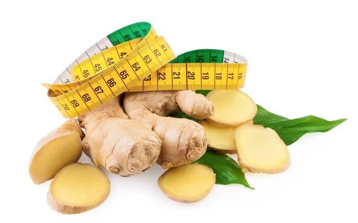 На фото Как похудеть без усилий при помощи имбиря