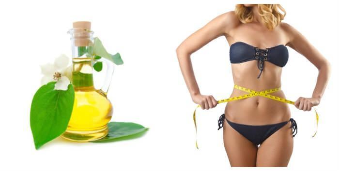 На фото Льняное масло для похудения