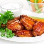 Рецепт Жареные куриные крылышки в цитрусовой глазури