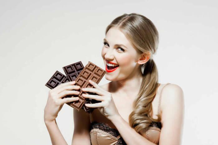 На фото Метод вкусного экспресс-похудения (шоколадная диета)