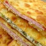 Рецепт Сырные лепешки на кефире