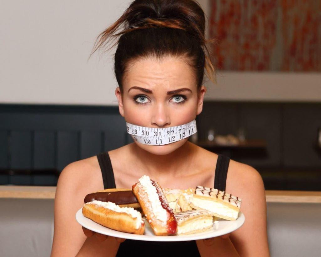 Если отказаться от сладкого можно похудеть