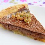 Рецепт Пирог с белой смородиной и какао