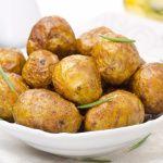 Рецепт Молодой картофель, запеченный целиком