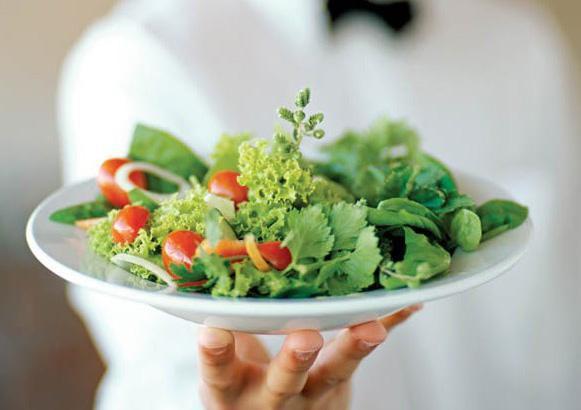 На фото Вегетарианство