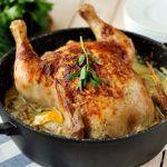 Рецепт Запеченная курица с летними овощами