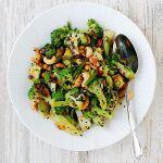 Рецепт Кисло-сладкий салат из брокколи