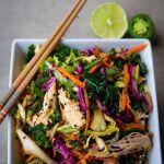 Рецепт Острый азиатский салат с курицей