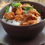 Рецепт Курица карри с рисом в мультиварке