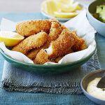 Рецепт Хрустящие рыбные палочки
