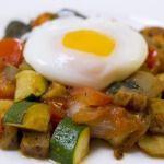 Рецепт Рататуй с яйцом