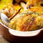 Рецепт Запеченная курица с картофелем и пряными травами