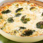 Рецепт Пирог с брокколи и сыром