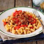 Рецепт Паста болоньезе с болгарским перцем