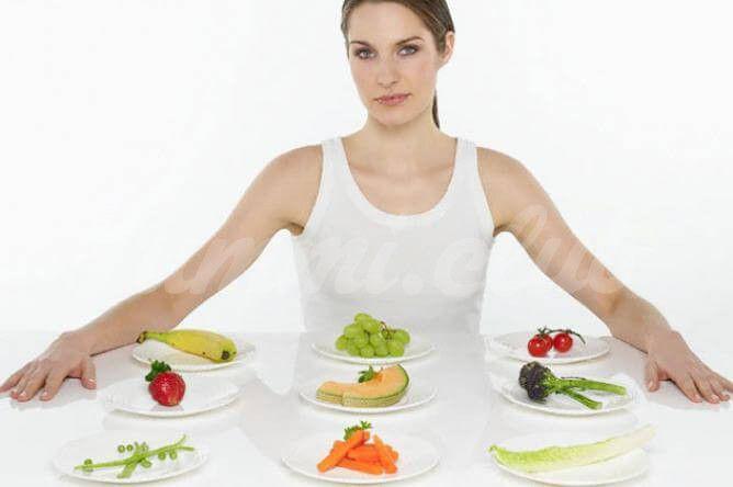 На фото Ученые рекомендуют питаться 9 раз в день