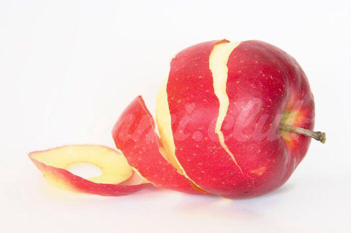 На фото Яблочная кожура защищает мышцы от старения