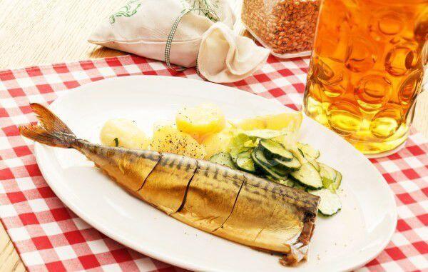 На фото Рыбная закуска к пиву