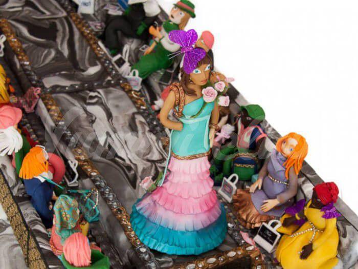 На фото Самый дорогой в мире торт стоимостью 74 миллиона долларов