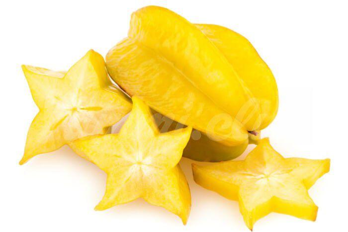 На фото Звёздный фрукт – Карамбола