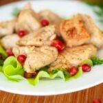 Рецепт Жареное филе индейки кусочками