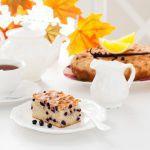 Рецепт Творожный пирог с черникой