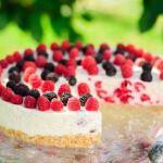 Рецепт Пирог с малиной и ежевикой