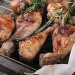 Рецепт Запеченные куриные ножки с розмарином