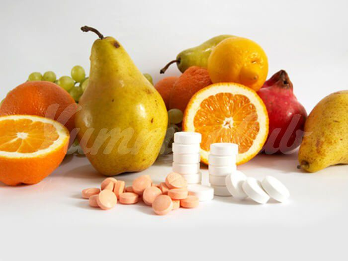 На фото Кальций и витамин D