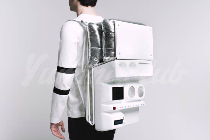 На фото Оборудование для пикника будущего