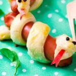 Рецепт Сосиски-змейки