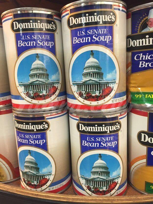 Фасолевый суп по рецепту Сената США