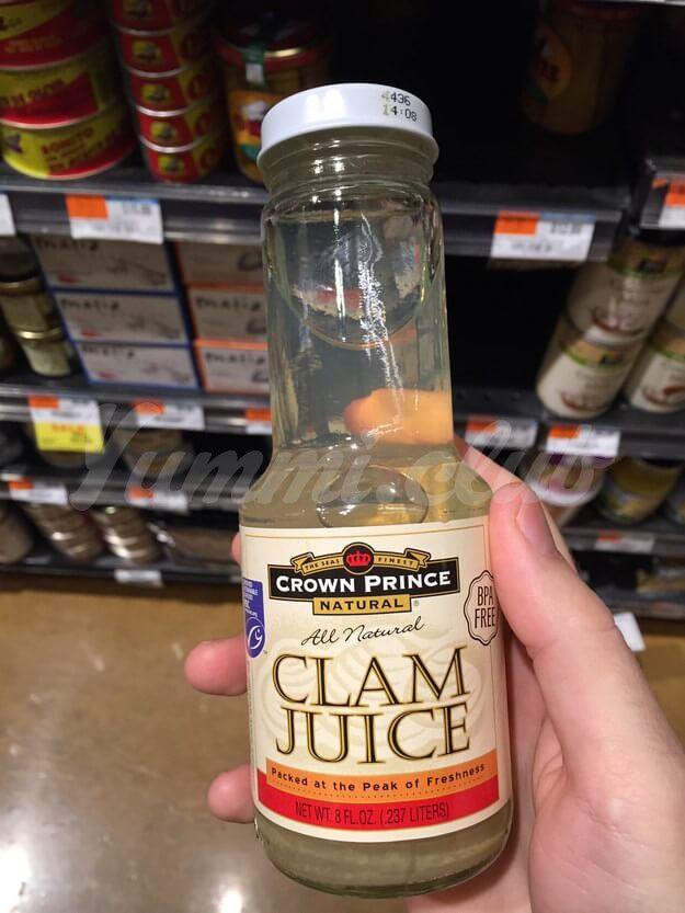 Свежий сок моллюсков