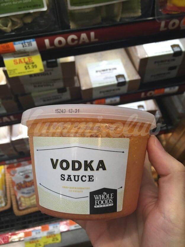 Соус из водки