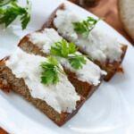 Рецепт Сало с чесноком