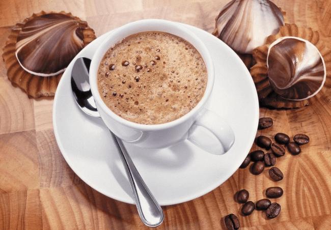 На фото Кофе «Офламерон» (рецепт 1901 года)