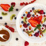Рецепт Каша с фруктами и семенами чиа