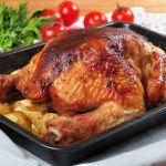 Рецепт Запеченная курица в абрикосовой глазури