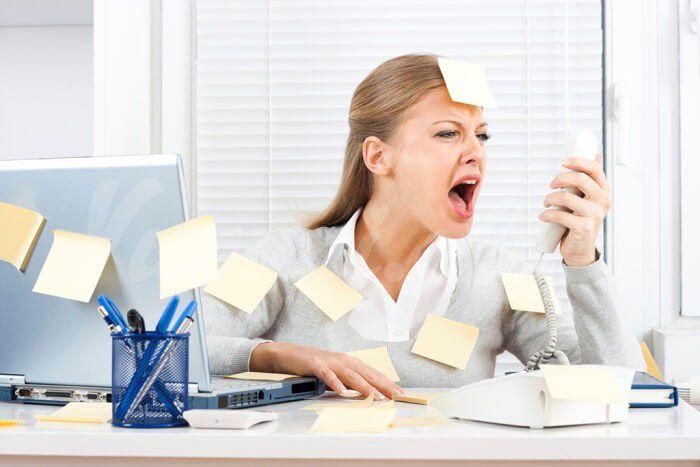 На фото 10 лучших продуктов при стрессе