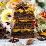 Рецепт Осенние брауни с тыквой