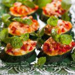 Рецепт Брускетта из цуккини с помидорами и сыром