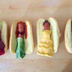 Диснеевские принцессы в виде хот-догов