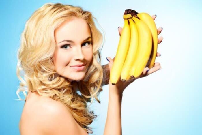 На фото Банановая диета: худеем с пользой для фигуры и кожи